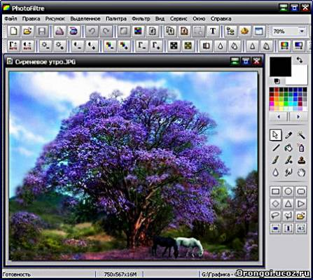 PhotoFiltre 6.5.1 Portable Rus